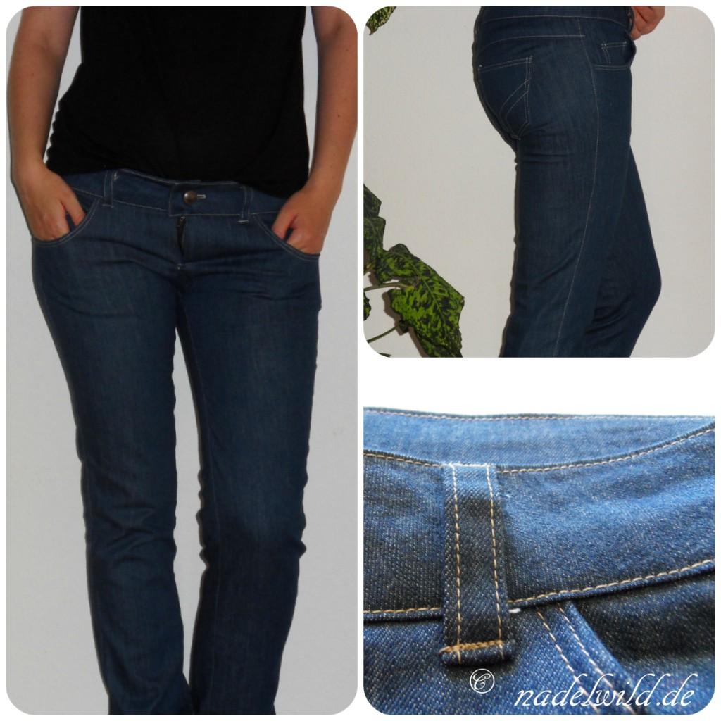 Eine neue Jeanshose