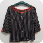Refashion einer Bluse