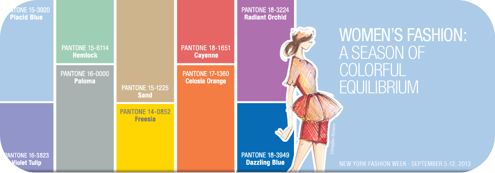 Pantone Frühlingsfarben