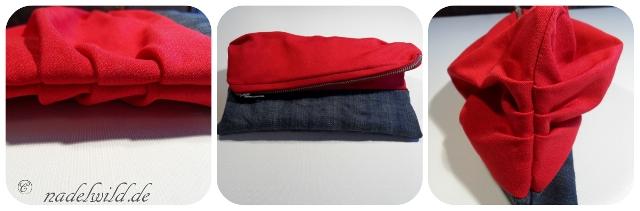 Reißveschlusstasche