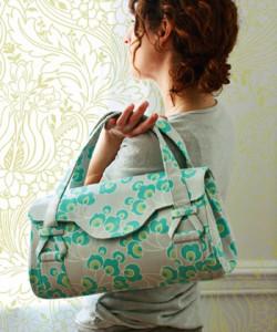 kostenloses Taschenschnittmuster von Amy Butler