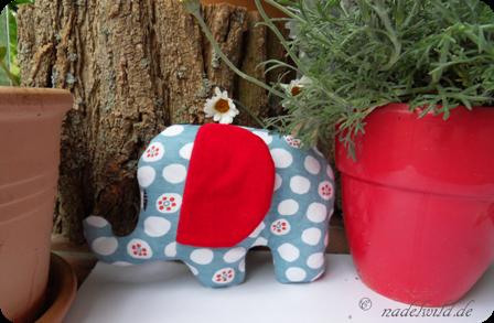 Kostenloses Schnittmuster am Freitag #14: Schnittmuster Elefant