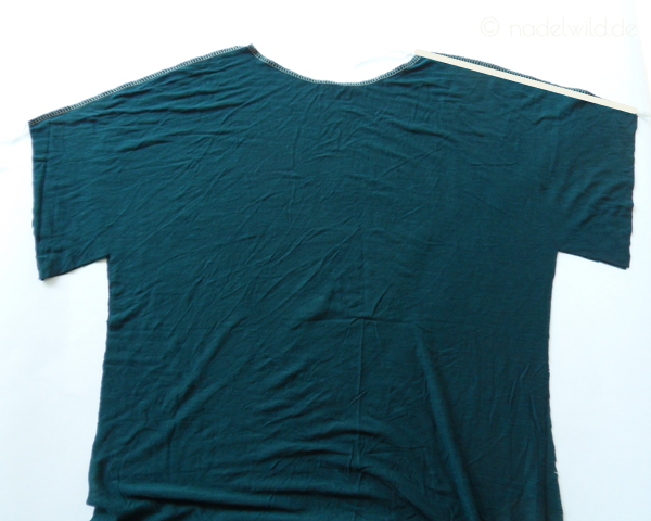 T-Shirt selber nähen Schritt 3