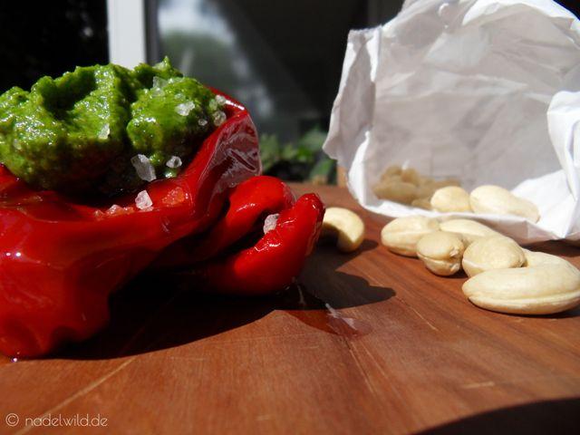 Rucola Pesto mit Cashewkernen