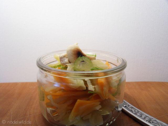 Möhren Fenchel Salat