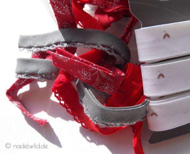 Schrägbänder, Schrägband in verschiedenen Ausführungen