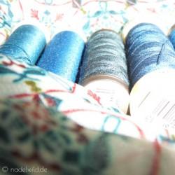 blauer Faden